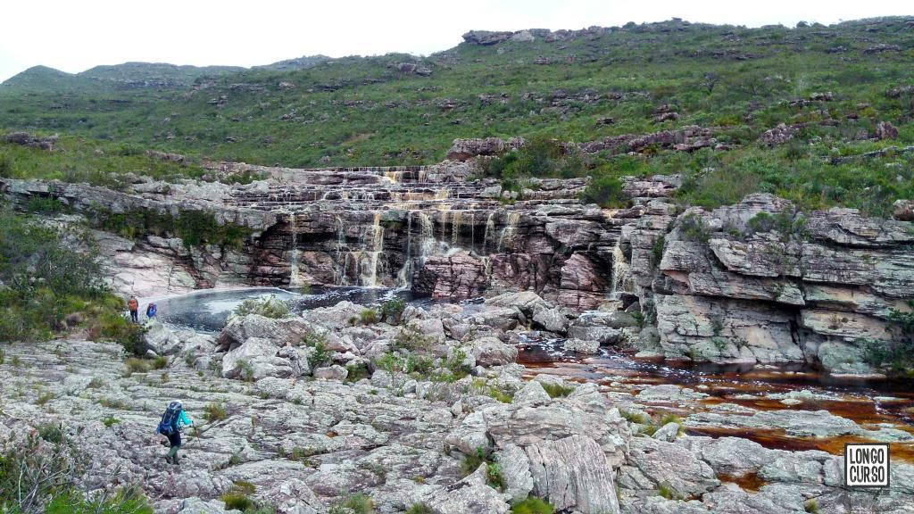 Chegada na Cachoeira da Matinha