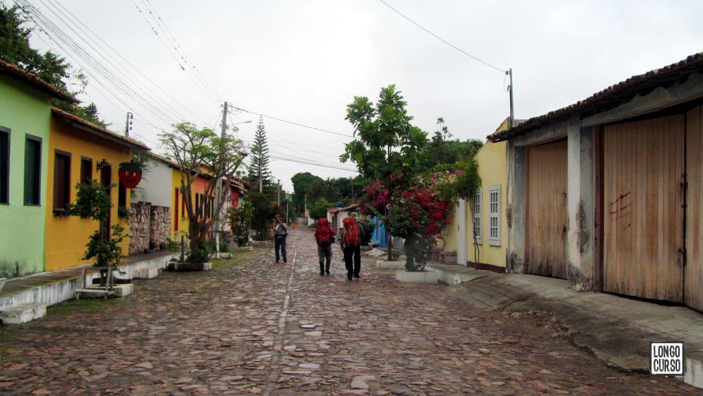 A chegada em Mucugê