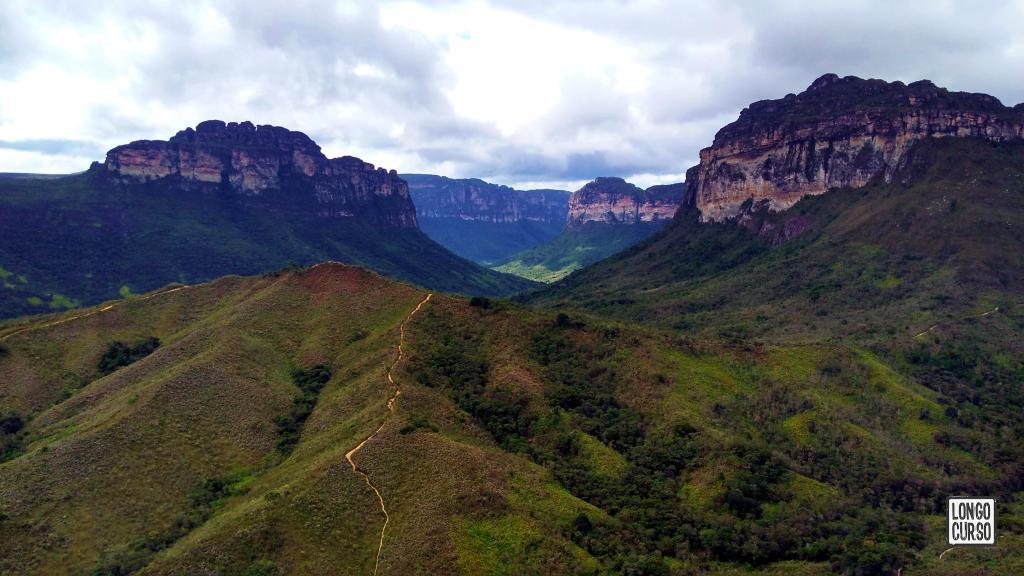 Visual do Vale do Pati a partir do Mirante da Rampa