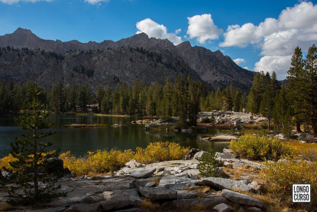 Arrowhead Lake: nosso segundo ponto de pernoite no circuito
