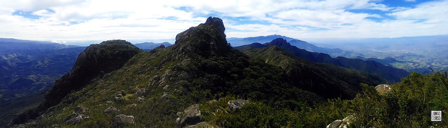Visual da trilha seguindo para o Marinzinho