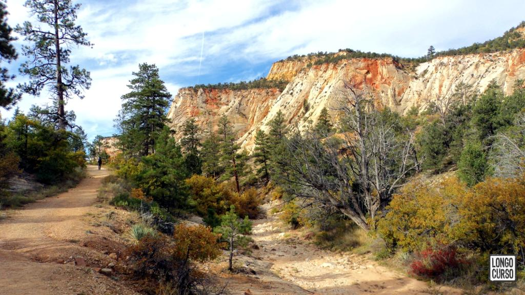 Last stretch of East Rim Trail, finishing the Zion Traverse